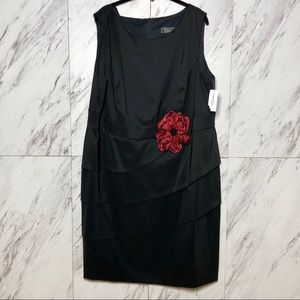 3/$60 NWT Dressbarn Sleeveless Layered Dress SZ 22